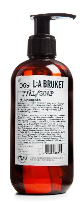L:A BRUKET / Gel Douche 450 ml - N°69 Lemongrass (Citronnelle)