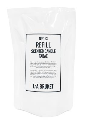 N°153 TABAC - Recharge Bougie 260 gr / L:A BRUKET